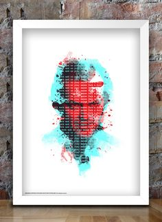 All Work and No Play Jack The Shining Print by thedesignersnursery, $30.00  #theshining, #thedesignersnursery, #jacknicholson