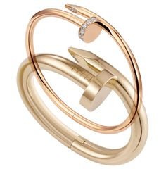 Cartier- Juste un clou - on a side note, this gives me an idea for more steampunk jewelry, bracelets..funky..