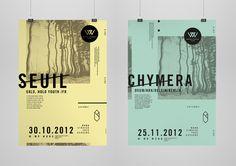 Deeait / Woodstrasse Posters
