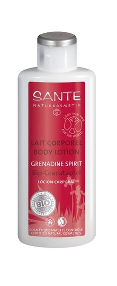 Sante Naturkosmetik Body Lotion Grenadine Spirit -The gently nurturing combination of valuable organic camellia oil and organic cupuacu butter provides additional moisture to leave your skin feeling irresistibly silky. $9