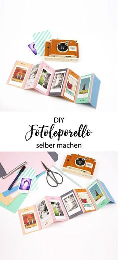 Geschenkidee: DIY Foto-Leporello und Lomo' Instant Kamera A great and personal gift to make yourself and tinker. So you make yourself a colorful DIY Photo Leporello just yourself. The ideal gift for y Diy Gifts For Mom, Diy Gifts For Friends, Diy Gifts For Boyfriend, Diy Photo, Photo Craft, Paper Gifts, Diy Paper, Paper Craft, Foto Gift