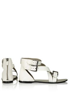 FANCY Cuff Cross Strap Sandals