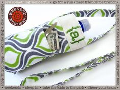 Water Bottle Sling: Weekend Wonders Returns with Fabric.com | Sew4Home