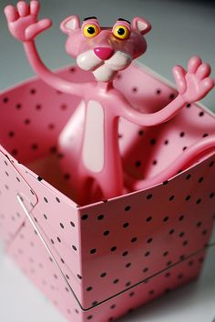 Pink Panther: check out the blog. It's the cutest thing ever!