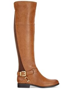 Bar III Dolly Tall Boots, Only at Macy's - Boots - Shoes - Macy's $115 COLOR: Banana Bread