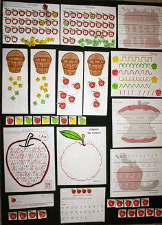 Fern's Freebie Friday ~ Apple Activity Packet #FREE #TPT #TeachersFollowTeachers #FernSmithsClassroomIdeas