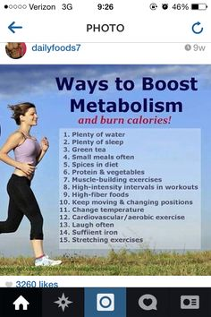 Metabolism booster                                                                                                                                                     More