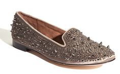 Same Edelman Flats...spiky and sequins=chic