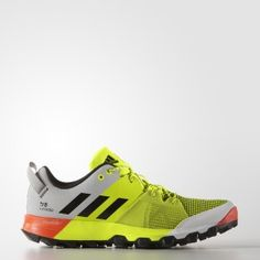 best value cb1c5 6d62e adidas Kanadia Trail 8 Mens Running Shoes - Yellow