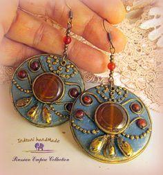 Indrani Handmade Washer Necklace, Pendant Necklace, Modern Hippie, Polymer Clay Jewelry, Nail Art Designs, Bracelets, Boho Chic, Handmade, Jewels