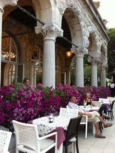 Cafe Wagner, hotel Millennium, Opatija, Croatia