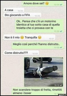 Amo re dove sei Funny Images, Funny Pictures, Funny Chat, Darwin Awards, Italian Memes, Serious Quotes, Pokemon, Strange Photos, Funny Scenes