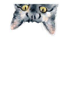 Sneaky Tabby Cat Art Print Wall Decor Watercolor Painting - Tabby Cat - Ideas of Tabby Cat - Sneaky Tabby Cat Art Print Wall Decor Watercolor Painting The post Sneaky Tabby Cat Art Print Wall Decor Watercolor Painting appeared first on Cat Gig. Watercolor Cat, Watercolor Animals, Watercolor Paintings, Cat Paintings, Painting Art, Grey Tabby Cats, Tabby Kittens, Black Cats, Funny Kittens