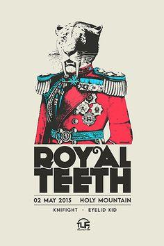 Royal Teeth - Knifight - Eyelid Kid