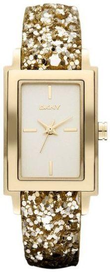 DKNY Gold Sparkle Ladies Watch