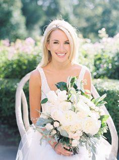 Photography: Annie Parish Photography - www.annieparishphotography.com  Read More: http://www.stylemepretty.com/2015/05/20/elegant-tented-backyard-lake-forest-wedding/