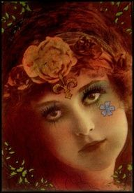 Gypsy Art Nouveau Women | The Gypsy that I was by *Bohemiart