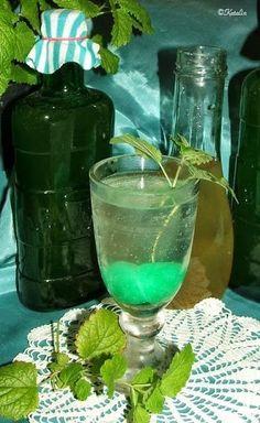 Katalin konyhája: Citromfű szörp Hurricane Glass, Cooking Recipes, Drinks, Tableware, Bor, Mint, Alcohol, Drinking, Beverages