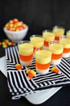 Candy Corn Jello Shots  - Delish.com