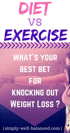 If your goal is to lose weight is diet or exercise more important? | Diet or Exercise | Should I focus on diet or exercise to lose weight? | Weight loss |