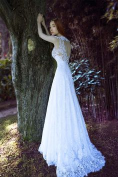 White A-Line gown made with a combination of Chantilly and Guipure lace Book an Appointment Couture Wedding Gowns, Wedding Dresses, Fairytale Bridal, Princess Line, A Line Gown, Bridal Collection, Body Shapes, Fairy Tales, White Lace
