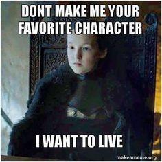 Lyanna Mormont, ladies and gentlemen. Link for Episode 7 in bio.