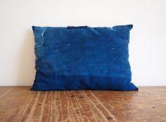 A New Line of Indigo Pillows from a World Traveler
