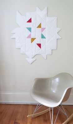 quilt by Sally England, via Behance