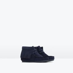 LEATHER BOOTS WITH FRINGE-Shoes-Baby girl (3 months - 3 years)-KIDS | ZARA United States