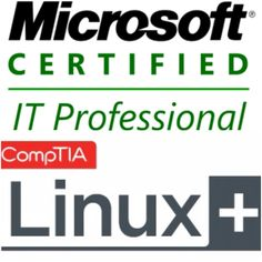We hold many professional certifications from Microsoft, Linux, COMP TIA & Novell: