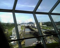 One of our own here at CruiseExperts.com, Glynna, shared some pictures from her Celebrity Cruise through the Panama Canal.