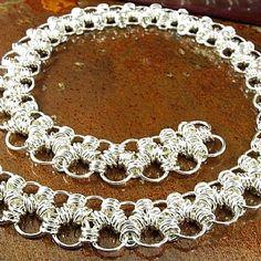 Diana Ferguson - Work Zoom: Sterling Silver MultiLink Chain Link Necklace. -    $1120.00