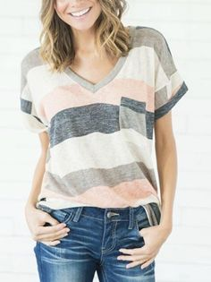 ~~~SPRING AND SUMMER TRENDS! l love this simple striped top. Try stitch fix today! Get looks just like these handpicked by your own personal stylist and delivered right to your doorstep. New to stitch fix? Just click the picture to get started! Stitch fix summer 2017 #affiliatelink