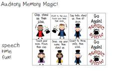 Auditory Memory Magic!