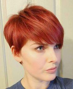 Heute Tragen Wir Rot Die Farbe Genau Deiner Frisur