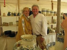 Mountain Man Traders Camp- Mecham Pottery (These folks have been at our RMM Rendezvous at the Fremont Indian State Park many times)