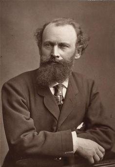 Edouard Manet, 1876 //photogliptie by Goupil