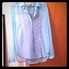 I just discovered this while shopping on Poshmark: Lauren Conrad blouse!. Check it out!  Size: M