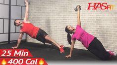 25 Min Kettlebell Workout: Kettlebell Workouts for Fat Loss & Strength Training Exercises Men Women - YouTube