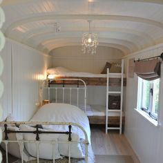 Glamping... well, this is interesting if you get a gutted camper.  Most everything you do is outside anyway.  Not this fancy but a gutted trailer  situation would be great.  Hooks on the walls for clothes and fold up futon mattresses and I would be in heaven!