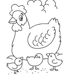 Chicken Hern Coloring Pages from Best Collection of Chicken Coloring Pages. Chicken a bird bred both for its meat and its eggs, among the most used in the alimentation. Get the chicken coloring pictures below. Zoo Animal Coloring Pages, Farm Animal Coloring Pages, Easter Coloring Pages, Cat Coloring Page, Mandala Coloring Pages, Coloring Pages To Print, Free Printable Coloring Pages, Coloring Book Pages, Coloring Pages For Kids