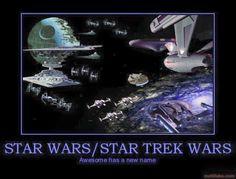 Star Wars/Star Trek Wars