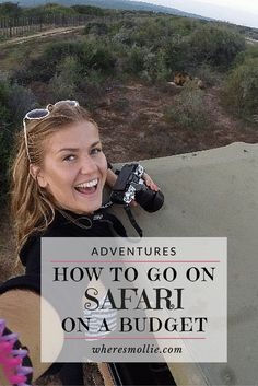 How to go on safari when you are on a budget travelling! My First Ever Safari Game Drive at Addo National Park, South Africa