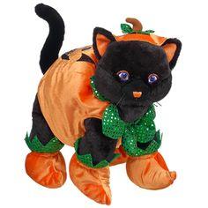 Pumpkin Lucky Kitty - Build-A-Bear Workshop US $38.50 The cutest black cat on the block.