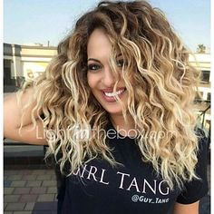 Women's Ombre Two tone Strawberry Blonde Wigs 24 inch Long Straight wig - USD $15.88 ! HOT Product! A hot product at an incredible low price is now on sale! Come check it out along with other items like this. Get great discounts, earn Rewards and much more each time you shop with us!