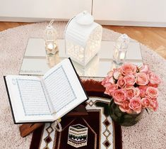 To all our muslim brothers and sisters, may you all be blessed with abundant favours of Allah. Quran Wallpaper, Islamic Wallpaper, Love Flowers, Islamic Quotes, Ramadan, Holi, Allah, Foundation, Prayers