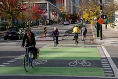 14 Ways to Make a Protected Bike Lane [Infographic].