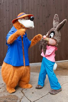 WDW Oct 2011 - Meeting Brer Rabbit and Brer Bear | by PeterPanFan
