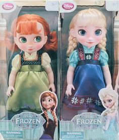 Repaint Disney Animators Collection Frozen Anna  Elsa | Flickr - I wish this is how the Disney Store made Elsa's face.
