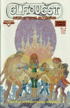 """ElfQuest: Siege at Blue Mountain"" # 8"